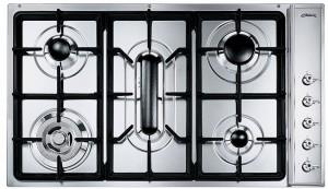 gaskochfeld smeg sd97asx3 edelstahl 90cm modulk chen bloc modulk che online kaufen. Black Bedroom Furniture Sets. Home Design Ideas